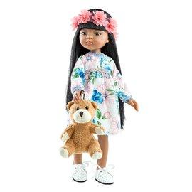 Paola Reina Paola Reina Pop Amigas Meily met teddybeer (32cm)