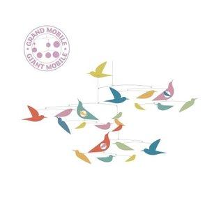 Djeco Djeco Mobiel- gekleurde vogels- katsumi DD04375