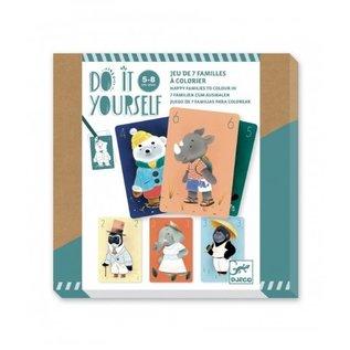 Djeco Djeco DIY knutselset - kwartetspel - DJ07947