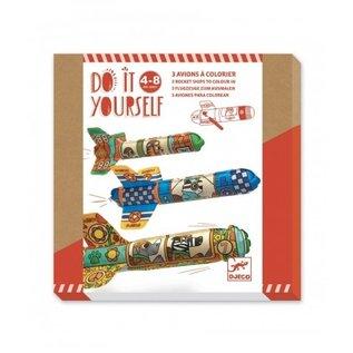 Djeco Djeco knutselset - Raketten maken - DJ07948