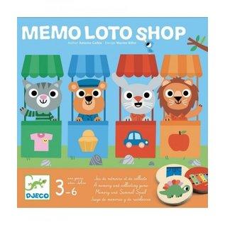Djeco Djeco | Memo Loto Shop | DJ08537