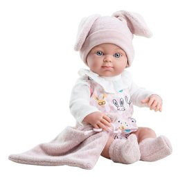 Paola Reina Paola Reina Pop Mini-Pikolines meisje konijn (32cm)