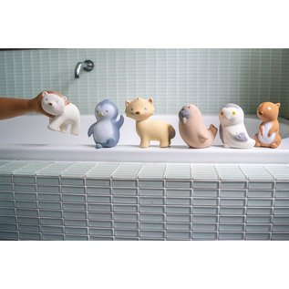 Tikiri Tikiri Bijt & bad speelgoed - Sneeuwuil