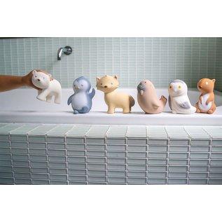 Tikiri Tikiri Bijt & bad speelgoed - ijsbeer