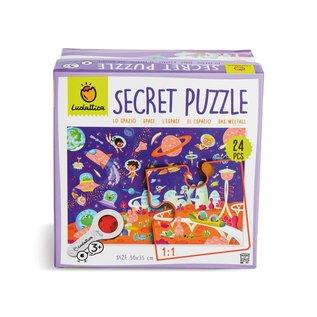 Ludattica Geheimen puzzel - Space