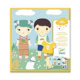 Djeco Djeco Herbruikbare stickers - Kleding