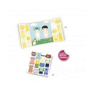 Djeco Djeco Herbruikbare stickers - Kleding - DJ09070