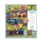 Djeco Djeco Herbruikbare stickers - Auto's