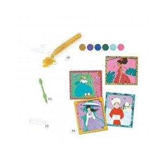 Djeco Djeco Knutselset parels - Rond de wereld - DJ09474