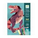 Djeco Djeco Schilderijtjes metalliseren - Dinosaurussen