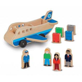 Melissa & Doug Melissa and Doug houten  vliegtuig