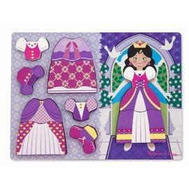 Melissa & Doug Melissa and Doug prinsessen aankleed puzzel
