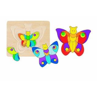 Goki Puzzel vlinder