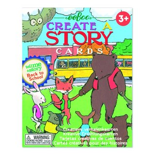 "Eeboo Eeboo tell me a story cards ""Back to school"""