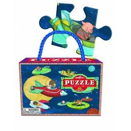 "Eeboo Puzzel 20 stukjes ""Up and away"""
