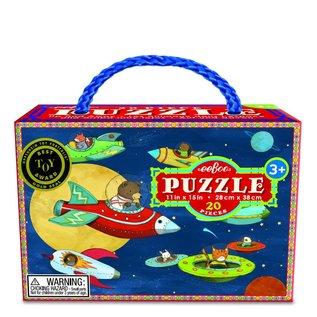 """Eeboo Eeboo puzzel 20 stukjes """"Up and away"""""""