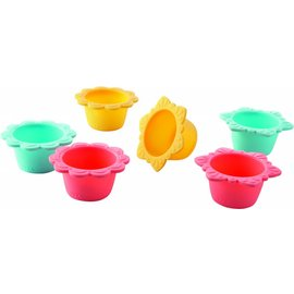 Haba Haba muffinvormpjes Bloemenparty 6 stuks