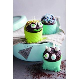Haba Haba - Family Food Stars - muffinvormpjes Dinoparade 6 stuks
