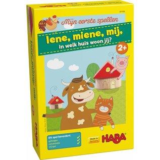 Haba Haba Mijn eerste spellen - Iene, miene, mij, in welk huis woon jij?