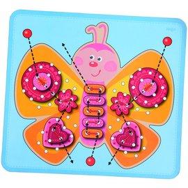 Haba Haba houten rijgspel vlinder