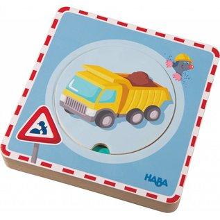 Haba Haba houten puzzel 'op de werf'