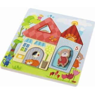 Haba Haba houten puzzel Berenhuis