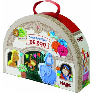 Haba Haba Grote speelset De zoo