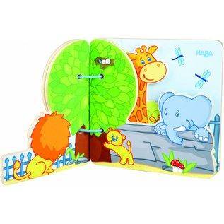 Haba Haba houten babyboek dierentuinvrienden