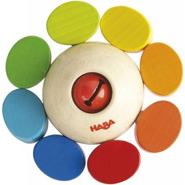 Haba Haba houten rammelaar kleurentol