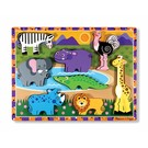 Melissa & Doug Melissa and Doug houten puzzel 'Safari'