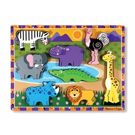 Melissa & Doug Melissa and Doug houten puzzel 'Safari'