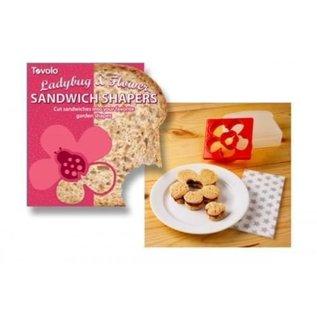 Tovolo Sandwichsteker Lieveheersbeestje & Bloem