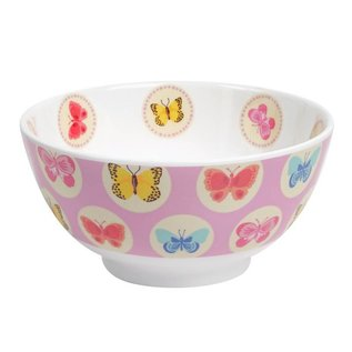 Ginger Happy Butterflies melamine kom