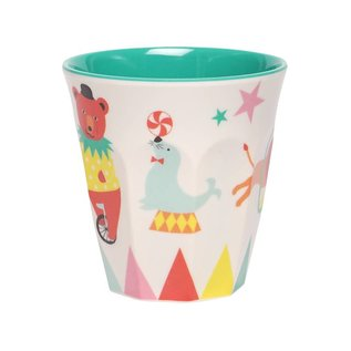Ginger A day at the circus melamine drinkbeker