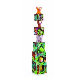 Djeco Djeco stapelblokken 'Topani jungle'