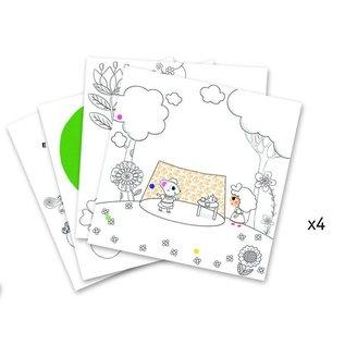 Djeco Djeco kleuren die verrassen - kleinduimpje