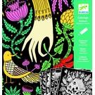 Djeco Djeco Fluwelen kleurplaten-Wonderland