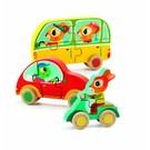 Djeco Djeco houten puzzel 'Jaco & Co' set van 3