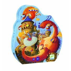 Djeco Djeco puzzel Ridders en Draken