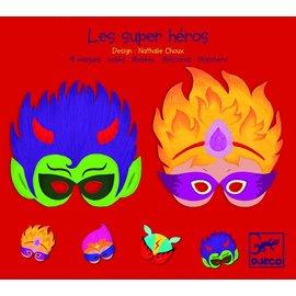 Djeco Djeco maskers Superhelden