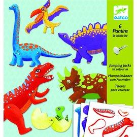 Djeco Djeco knutselset splitpennen - Dino's