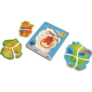 Haba Haba houten 3D puzzel 'lievelingsdraken'