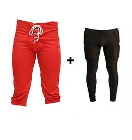 barnett barnett PACK PROTECTIVE PANTS sada kalhoty + kompresní kalhoty (dlouhé)