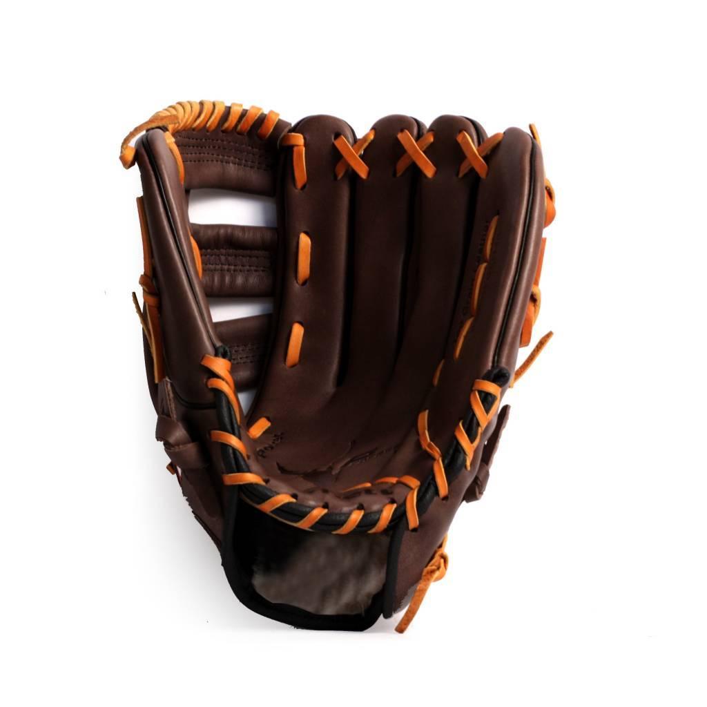 barnett GL-130 Soutěžní kožená baseballová rukavice, outfield 13'', hnědá