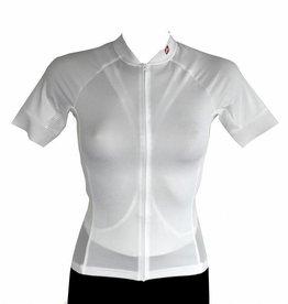 barnett Cyklistický dres - krátký rukáv BÍLÁ