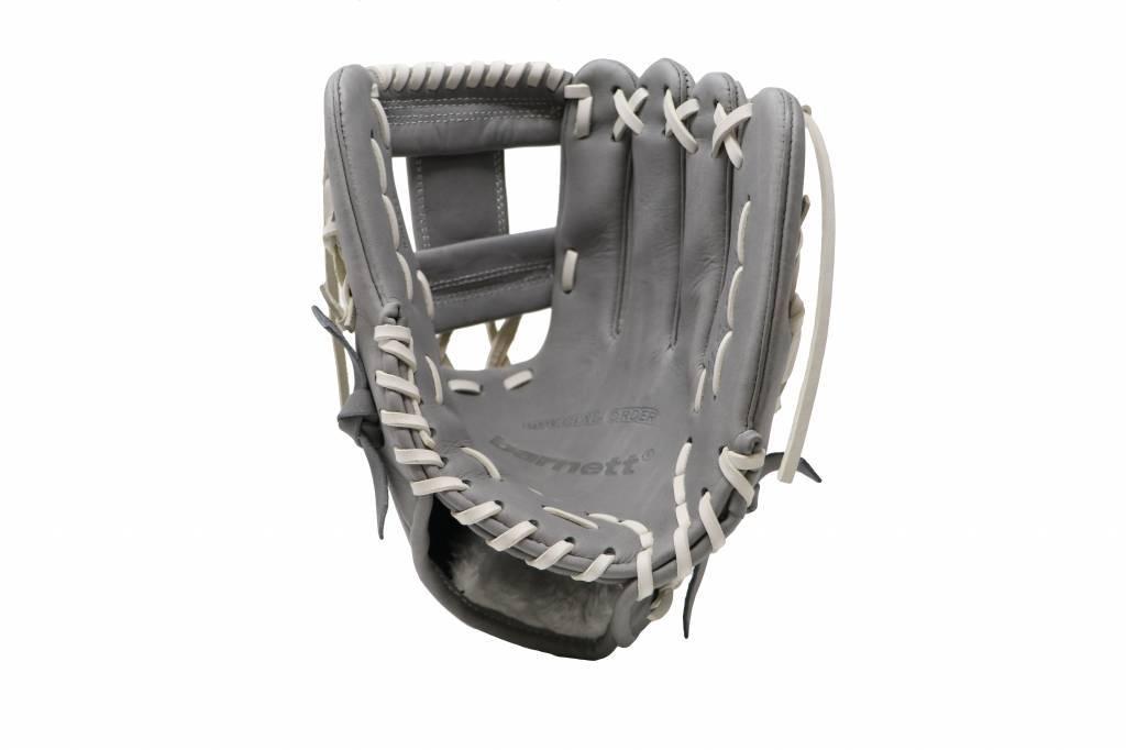 """barnett FL-115 baseballová rukavice, kůže, infield/outfield 11 """", světle šedá"""