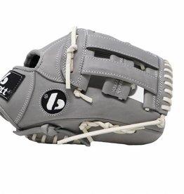 """barnett FL-117 baseballová rukavice, kůže, infield/outfield 11,7 """", světle šedá"""