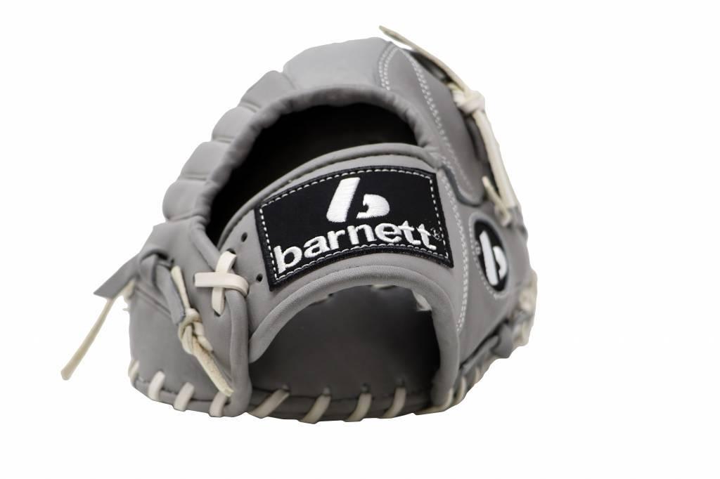 """barnett FL-120 baseballová rukavice, kůže, infield/outfield/pitcher 12 """", světle šedá"""
