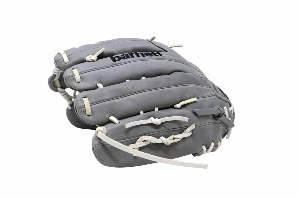 barnett FL-127 baseballová rukavice, kůže, infield/outfield/pitcher, světle šedá