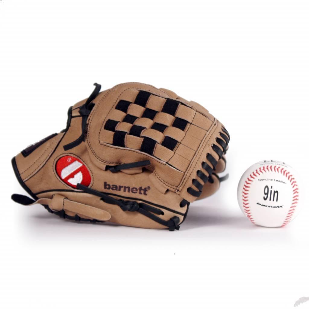 barnett GBSL-3 Basebalová sada- rukavice a míč, senior, kůže (SL-110, LL-1)